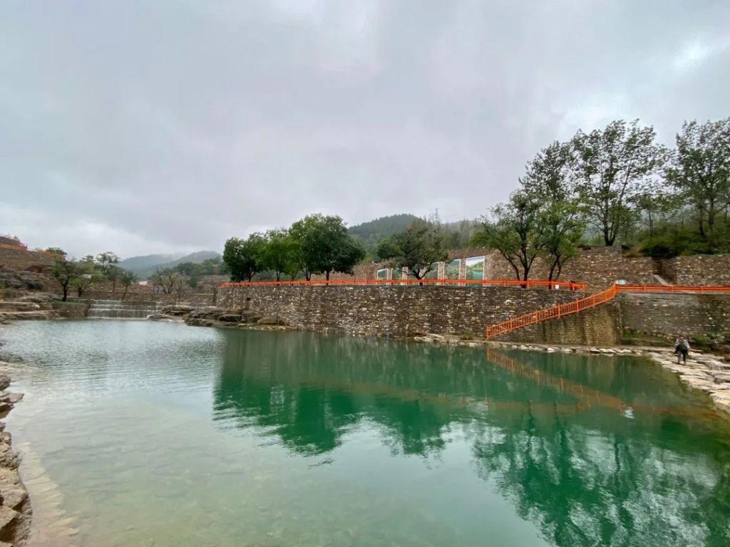 烟雨胡林谷,最美秋日景