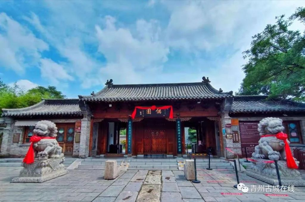 初秋,青州古城又出绚丽风景大片