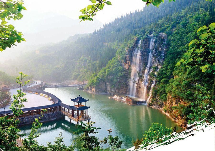 青州旅游-用近百张照片带你了解青州黄花溪,一个美丽的山水旅游胜地