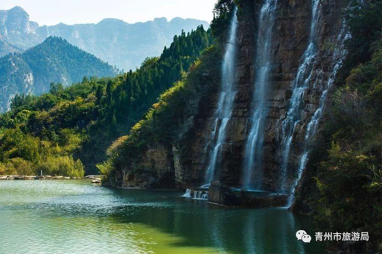 青州风景矢量图